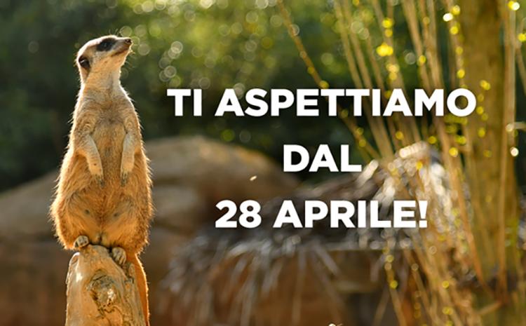 Der Natura Viva Park von Bussolengo öffnet wieder am Mittwoch, 28. April