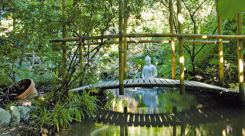 Der botanische Garten der Fondazione Heller in Gardone Riviera wiedereröffnet