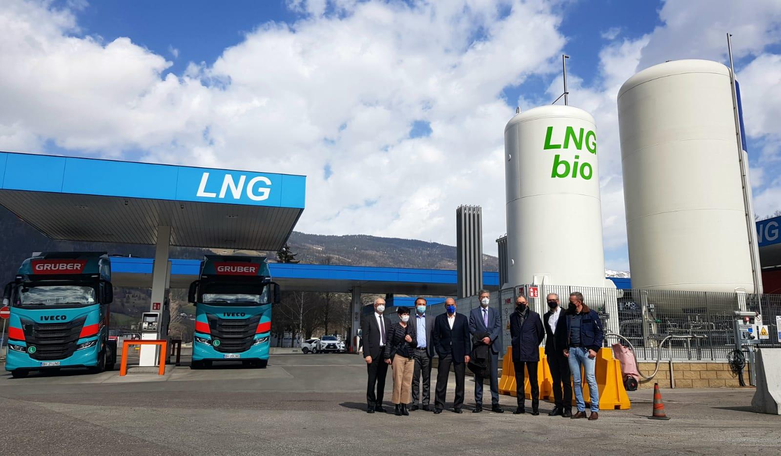 Nachhaltigkeit in der Mobilität: Brennerautobahn eröffnet erste Bioerdgastankstelle