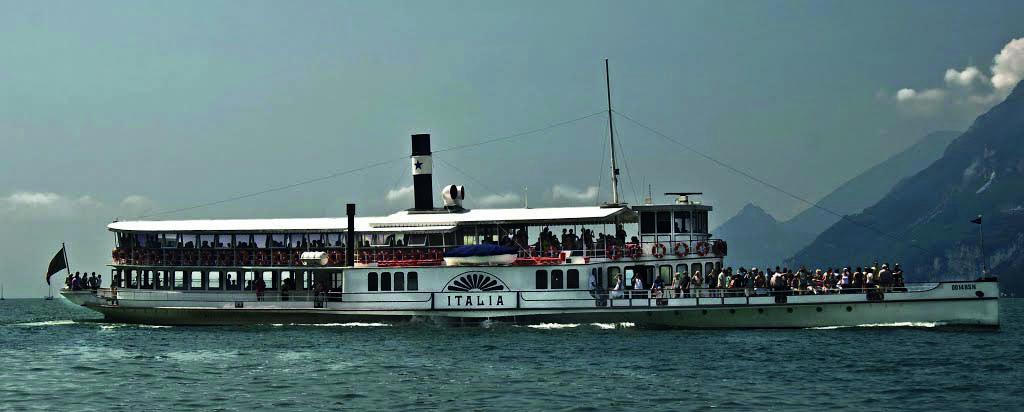 Navigarda-Fähren nehmen den Betrieb auf dem See wieder auf