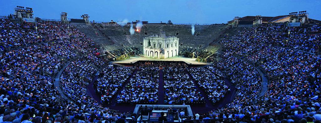 Auf Abruf im WebTV arena.it/tv die majestätische Inszenierung von Nabucco