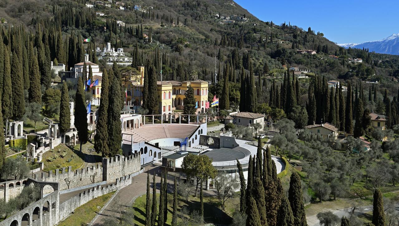 Ab morgen, 9. April, ist der Parco del Vittoriale in Gardone wieder geöffnet