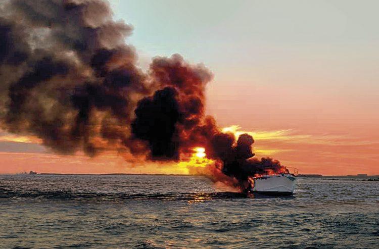 Ein neues Boot der Feuerwehr für Rettungseinsätze am Gardasee