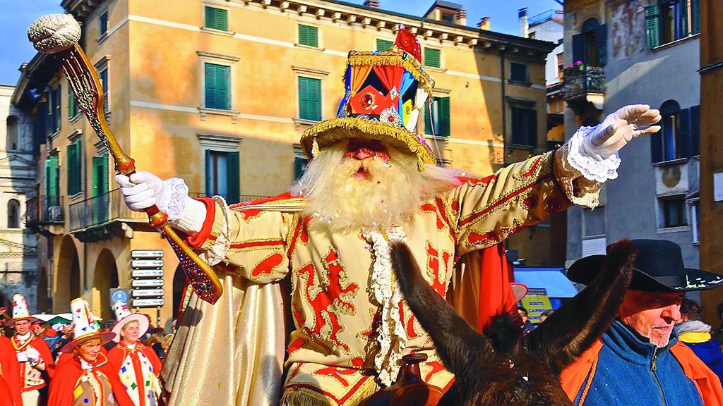 Verona: 491. Karneval wird im September gefeiert, mit Touristen