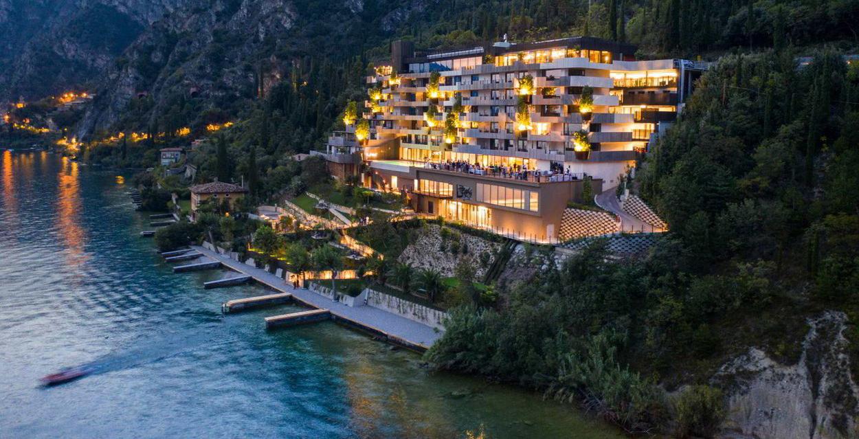 Gardasee, Eala eröffnet: das zwölfte Ultra-Luxus-Hotel an der Westufer