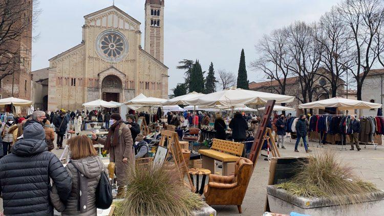 Sonntag, 2. Mai, feiert Verona Antiquaria die Schutzpatron der Stadt