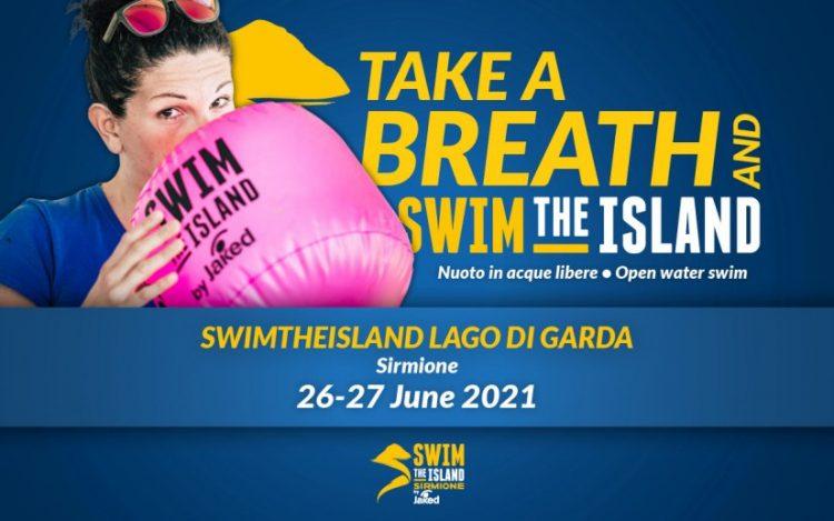 Atmen Sie durch und #SwimTheIsland in Sirmione