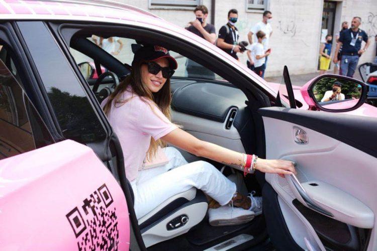 Frauenkrebs, auch bei der Mille Miglia gibt es das Pink Car