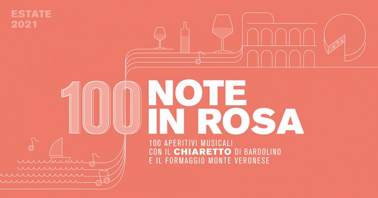 100 Noten in Rosa:  Live-Konzerte in Verona  und der Provinz