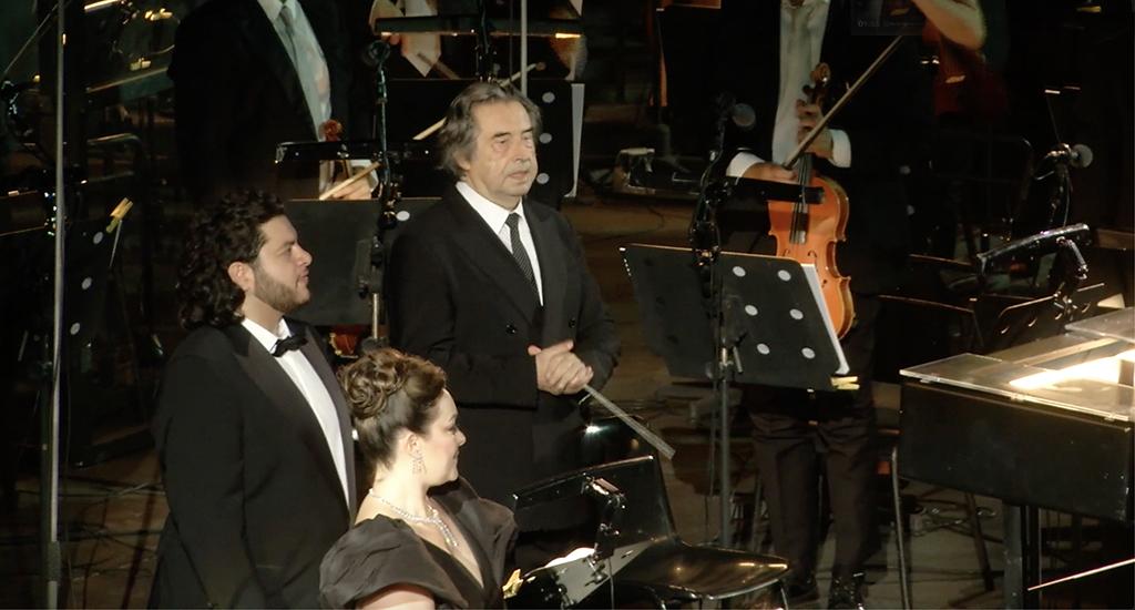 Mit Aida eröffnete Maestro Muti triumphal das 98. Opernfestival in der Arena