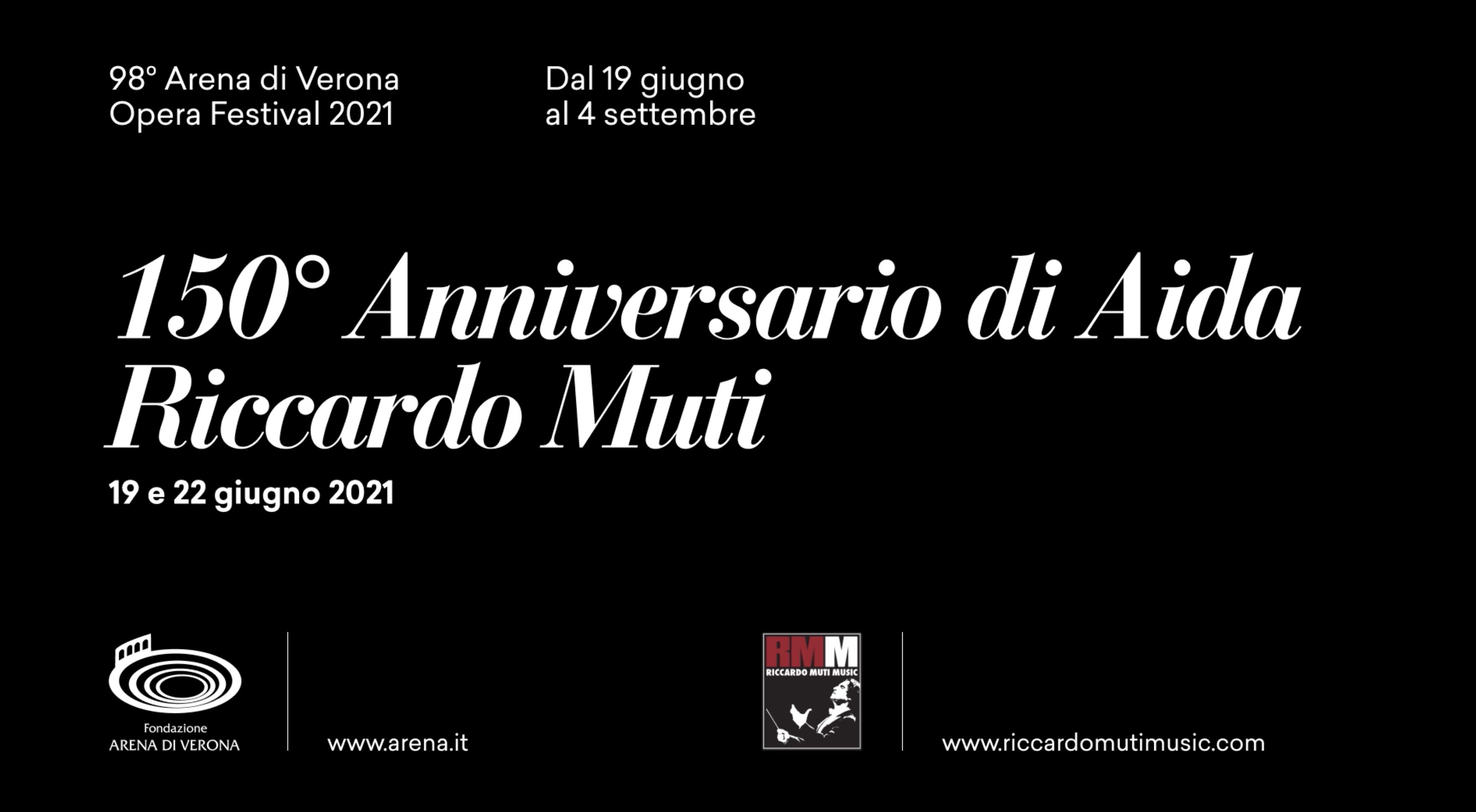 Verona: Am, 19. Juni, beginnen die 98. Opernfestival mit Verdis Aida unter der Leitung von Muti