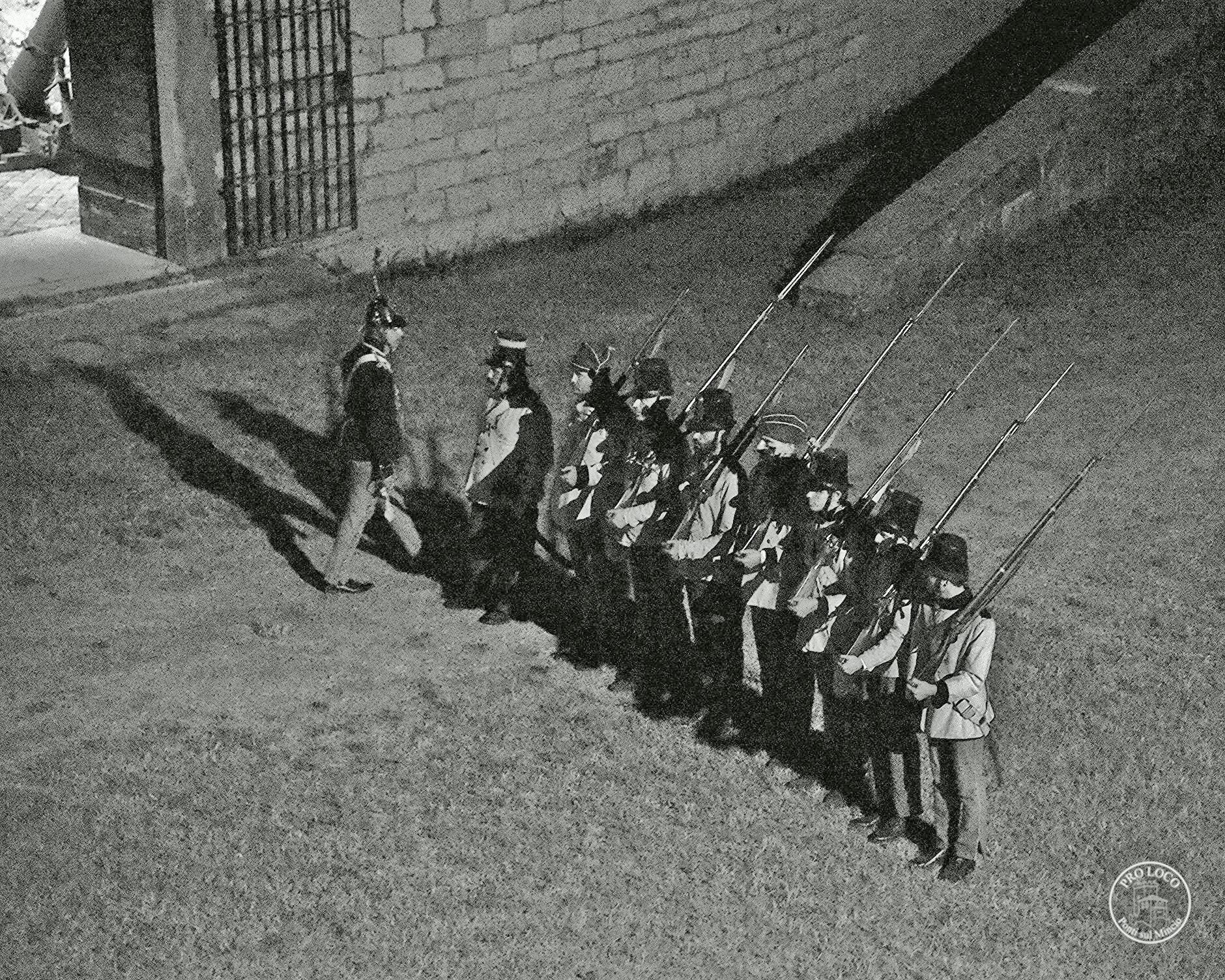 In Forte Ardietti, zwei Tage unter den Soldaten des 19. Jahrhunderts
