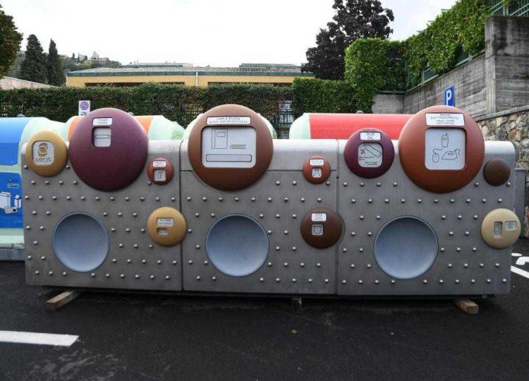 Italiens erste intelligente Mülltonne in Torri del Benaco