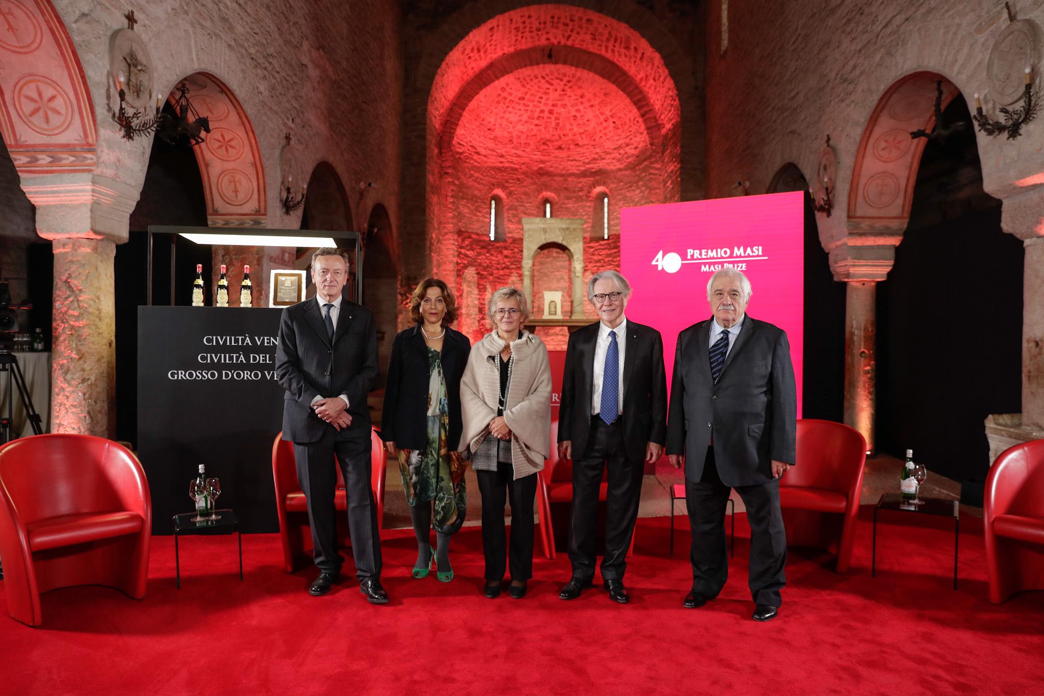 Pieve San Giorgio: Verleihung des 40. Masi-Preises