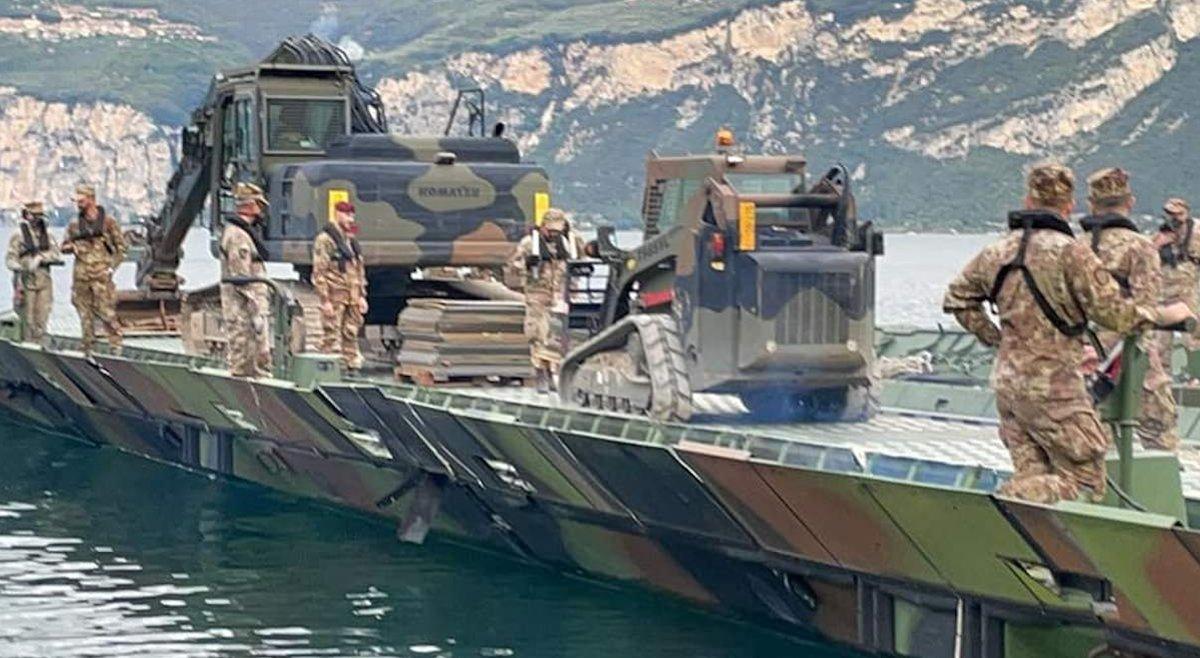 Die im See zwischen Brenzone und Malcesine gefundene Bombe ist entschärft worden